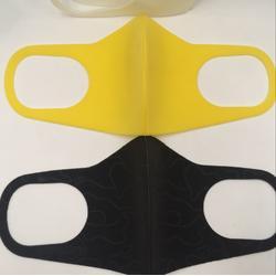 彩色防尘 防雾霾  防花粉 可水洗PVA海绵口罩图片