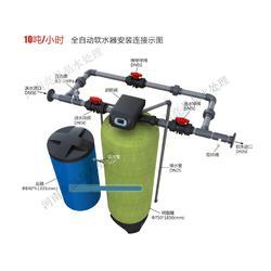 10吨 小时全自动软化水设备 全自动软水器 水除垢设备图片