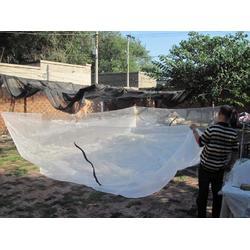厂家供应白色耐腐蚀超耐用养殖纱网图片