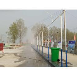 工地环保验收必备喷雾降尘设备图片