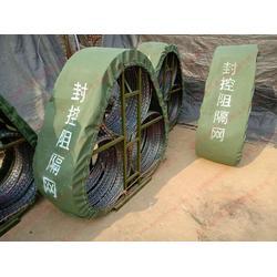 格尔木1.35米三圈反恐防暴应急封控阻隔网路障图片