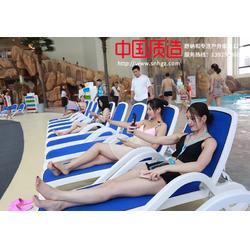 室外泳池躺椅ABS塑料酒店泳池沙滩躺椅图片