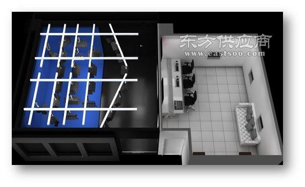万影通慕课室  超高清虚拟演播厅直播间直销图片