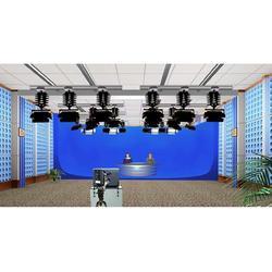 虚拟演播室系统-双机位SDI 虚拟抠像系统图片