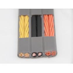电梯扁电缆带屏蔽电梯电缆线厂家供应商图片