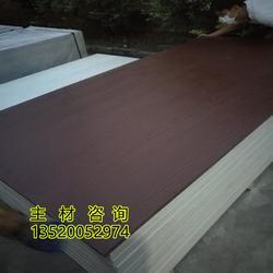 水泥木紋板外墻披疊板安裝圖片