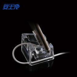 手机平板防盗展示立卧式展示支架亚克力透明水晶展示底座图片