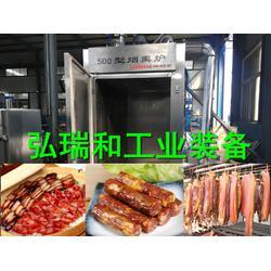 熏腊猪脚烟熏炉-鸡骨架蒸熏炉-熏肉熏烤炉图片