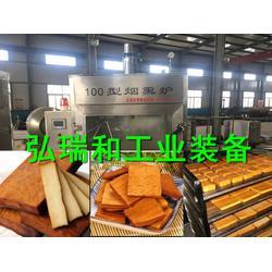 烟熏腊香豆干烟熏炉厂家-熏鸡用熏炉-小型熏蒸房图片