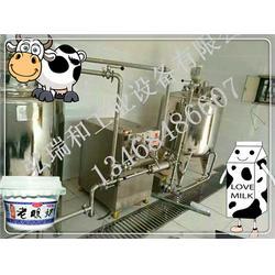 酸牛奶生产的设备线-牛奶灌装生产线-牛奶生产线的型号图片