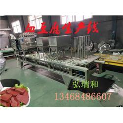 鸭血豆腐加工设备-鸭血豆腐生产线多少钱-鸡血豆腐加工机器图片