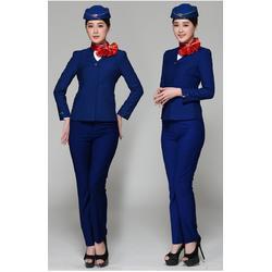 航空乘务工作服定做,客运航空工作服,空姐服图片