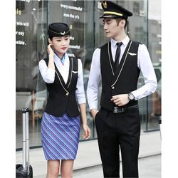 空姐服,客运乘务人员职业服,酒店前台服装图片