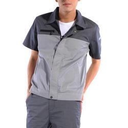 短袖工作服厂家,短袖工作服定做-顾然服饰价格