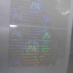 高?#35759;?#38450;伪商标 透明防伪标签 洗铝激光标打序列号图片