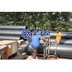 金沃泉PE管材生产厂家PE管材规格型号图片