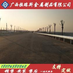 田东县道公路护栏 防撞波形护栏 护栏板厂家直销图片