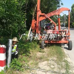 乐业县乡村波形护栏 防撞护栏 厂家现货 定做图片