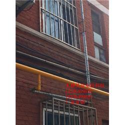 供应小区煤气管道防撞栏 防护罩 防护栏生产厂家图片