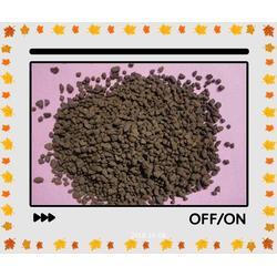 二氧化锰除铁除锰水处理锰铁滤料图片