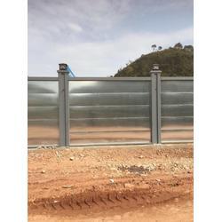 新款钢板围挡 镀锌板现货供应 新标准建筑围蔽图片