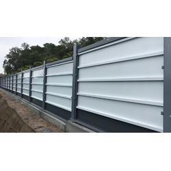 建筑钢结构围挡 A款新标准烤漆围蔽墙 中铁专用护栏板图片