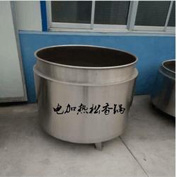 黄香大型圆形设备 锅 不锈钢绒毛脱毛方锅-劲松食品机械设备图片