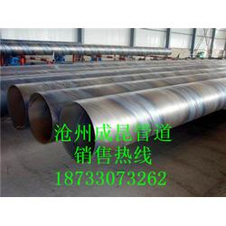 部标DN400螺旋钢管市场图片