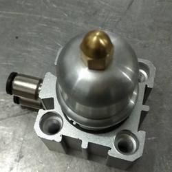 气动浮动支撑缸 微小零件加工cnc加工中心夹具 辅助支撑图片