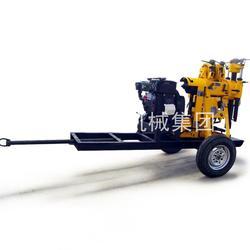 XYX-130拖车式水井钻机 农村家用牵引式打井机设备移动方便图片
