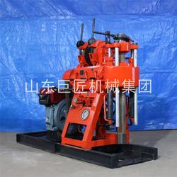 XY-200液压岩心钻机200米工程地基高速路面地质勘探钻机图片