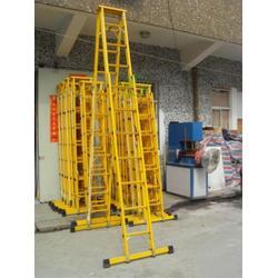 电力 电信工程绝缘升降合梯 玻璃钢伸缩人字梯生产厂家图片