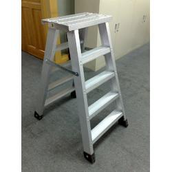 轻型铝合金合梯 人字梯 直梯规格齐全支持定做 双冠电气生产销售图片