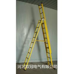 玻璃钢绝缘升降梯 绝缘伸缩梯 单面升降人字梯哪家质量好图片