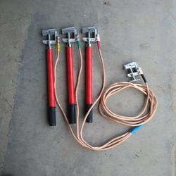 电力施工高压接地线 JDX-10kv三相式室内高压接地线生产厂家图片