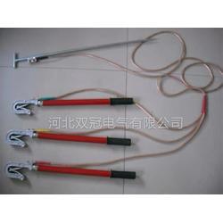 110kv高压接地线 户外双簧挂钩式电力接地线接地棒定做图片