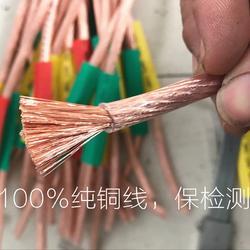 16/25平方50/95平方电力专用软铜线 测电阻国标接地线厂家图片