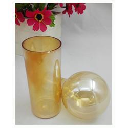 金釉发玻璃金茶火 琥珀色电光水 厂家直销图片