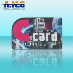 Mifare 4K S70非接触式IC薄卡 ISO14443 高频卡图片
