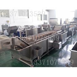 中央厨房生产设备-优质蔬菜清洗线图片