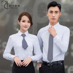 时卡服饰专业定制男女衬衫,夏季短袖衬衣,办公修身正装定制,套装现货供应图片