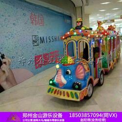 现货无轨小火车 景观小火车 商场游乐设备图片