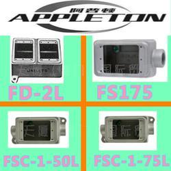 阿普顿APPLETON FSCC175防爆插座插头FSCT150供应正品假一赔十图片