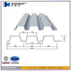 688楼层板安装现场-潍坊楼层板安装现场-宏鑫源图片