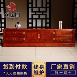 红木电视柜 中式红木电视柜定制图片