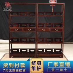 红木隔厅柜多大尺寸合适 红木玄关隔厅柜大全图片