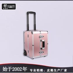 美易达铝合金化妆箱大号美容工具箱多层化妆箱旅行箱图片