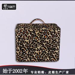 美易达韩版时尚pu化妆箱专业大容量手提箱便携旅行收纳箱厂家图片