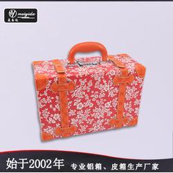 美易达新款大容量立体化妆箱个性韩国韩版化妆箱纹绣师美发工具箱图片