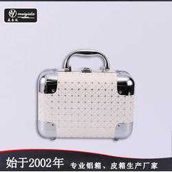 雙開小號便捷化妝箱化妝多色手提收納箱韓國手提多層化妝箱圖片